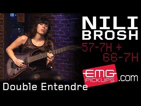 "Nili Brosh plays ""Double Entendre"" live for EMGtv!"