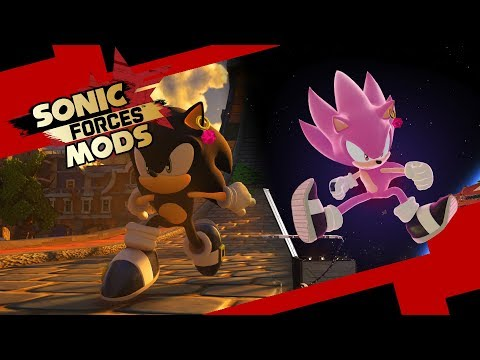 Sonic Black - Sonic Forces Mods