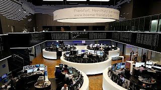 ФРГ: биржи реагируют на кризис