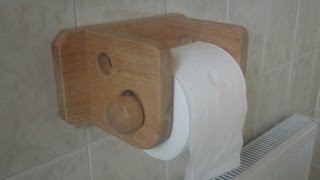 Making A Toilet Roll Holder