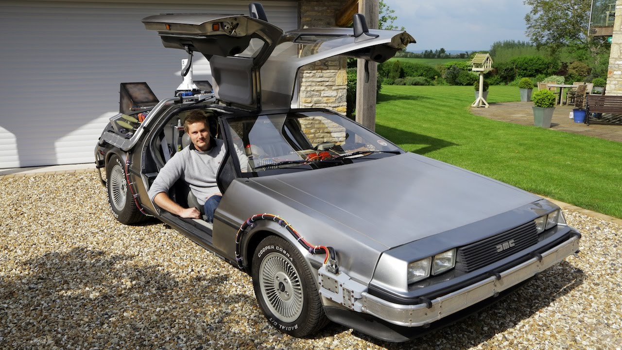 Great Scott! Man Owns Real Life Back To The Future