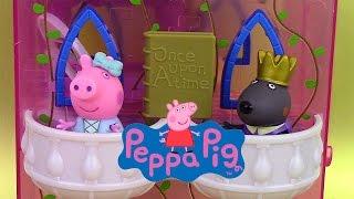 Peppa Pig Once Upon a Time Tour Enchantée ♥ Enchanting Tower ♥ Jouets Il était une fois