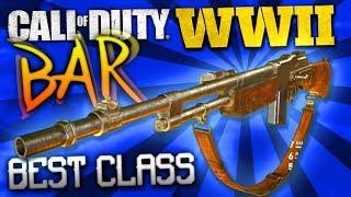 """MAKING YOUR GUNS BETTER! - COD: WW2 Best Class Setup """"BAR"""""""