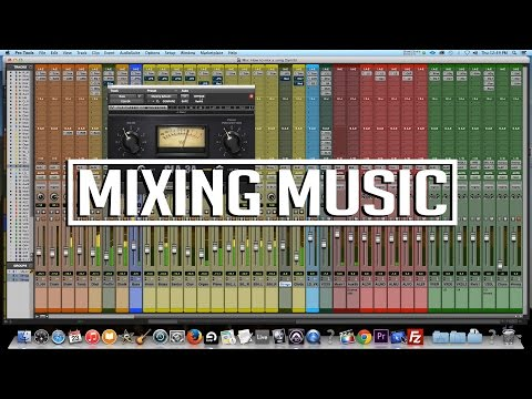 How to mix a Punjabi song | Mixing music [Pro Tools]