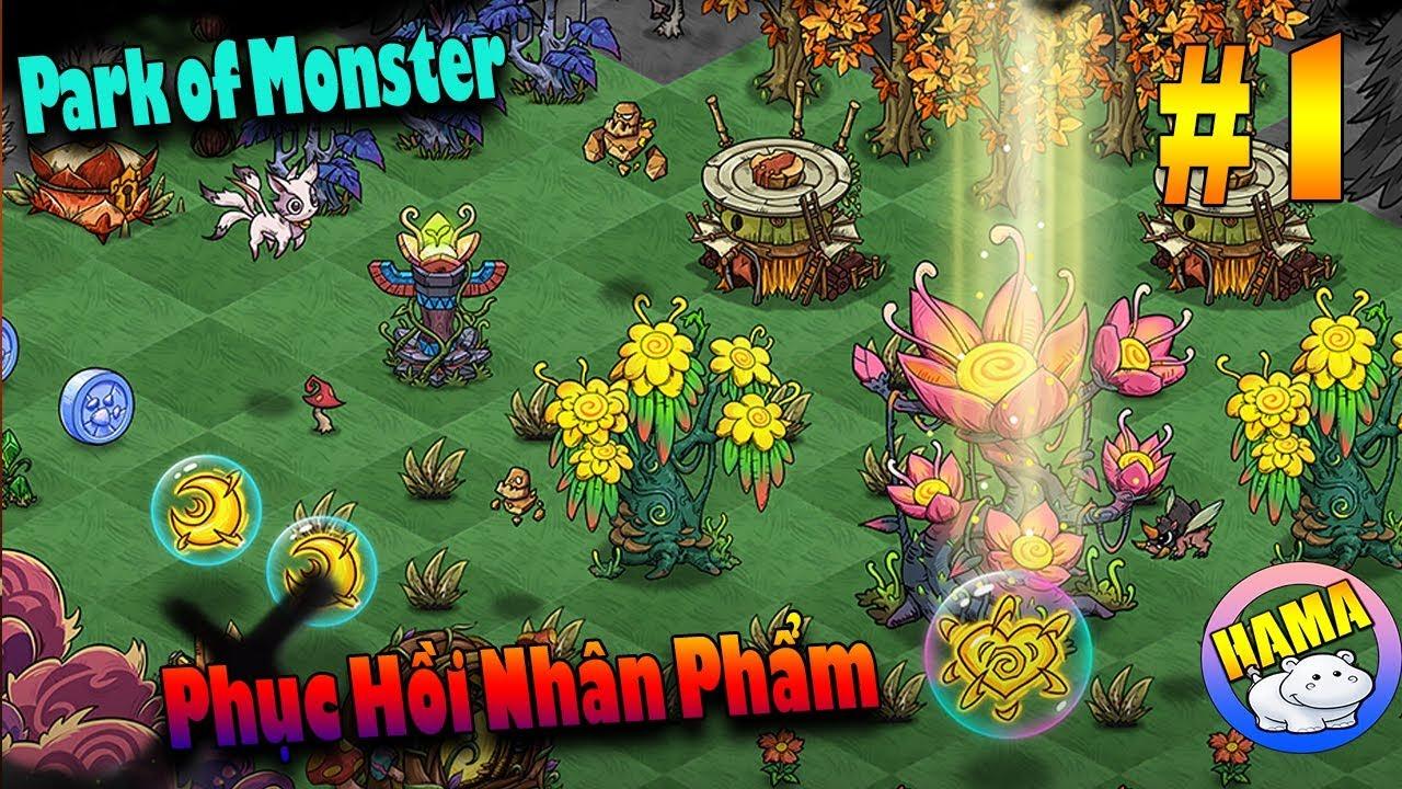 Park Of Monster – Game Nuôi Thú Phục Hồi Nhân Phẩm Lúc Rảnh