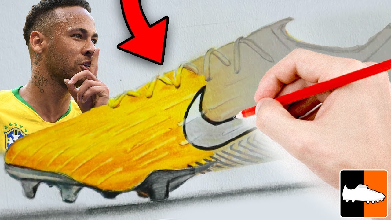 How To Draw Neymar's Football Boots!