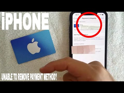✅  Unable To Remove Payment Method On iPhone Error 🔴