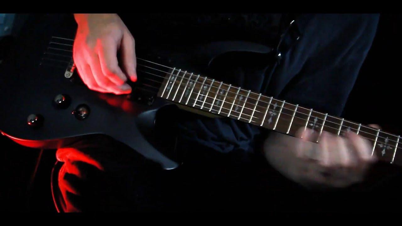 Metal Guitar Solo Shredding - by Barry Gilman