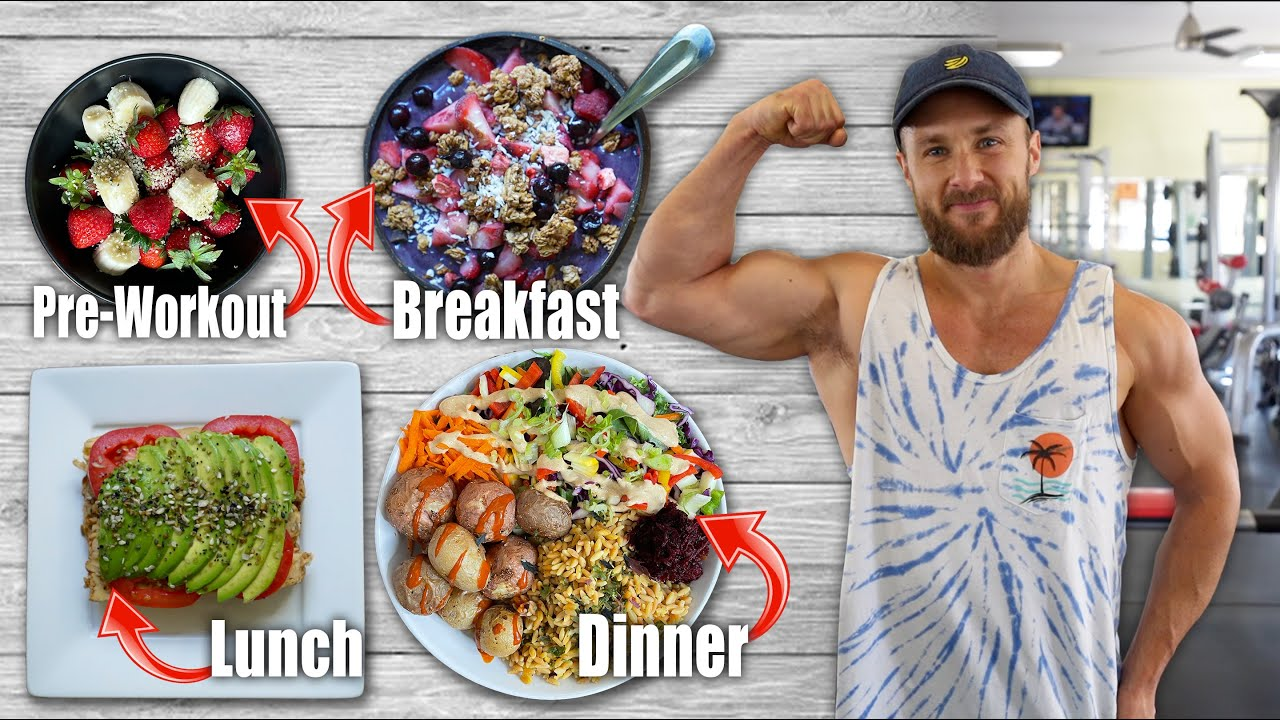 What I Eat To Fuel My Active Vegan Life   Full Day Of Eating 🌱💪