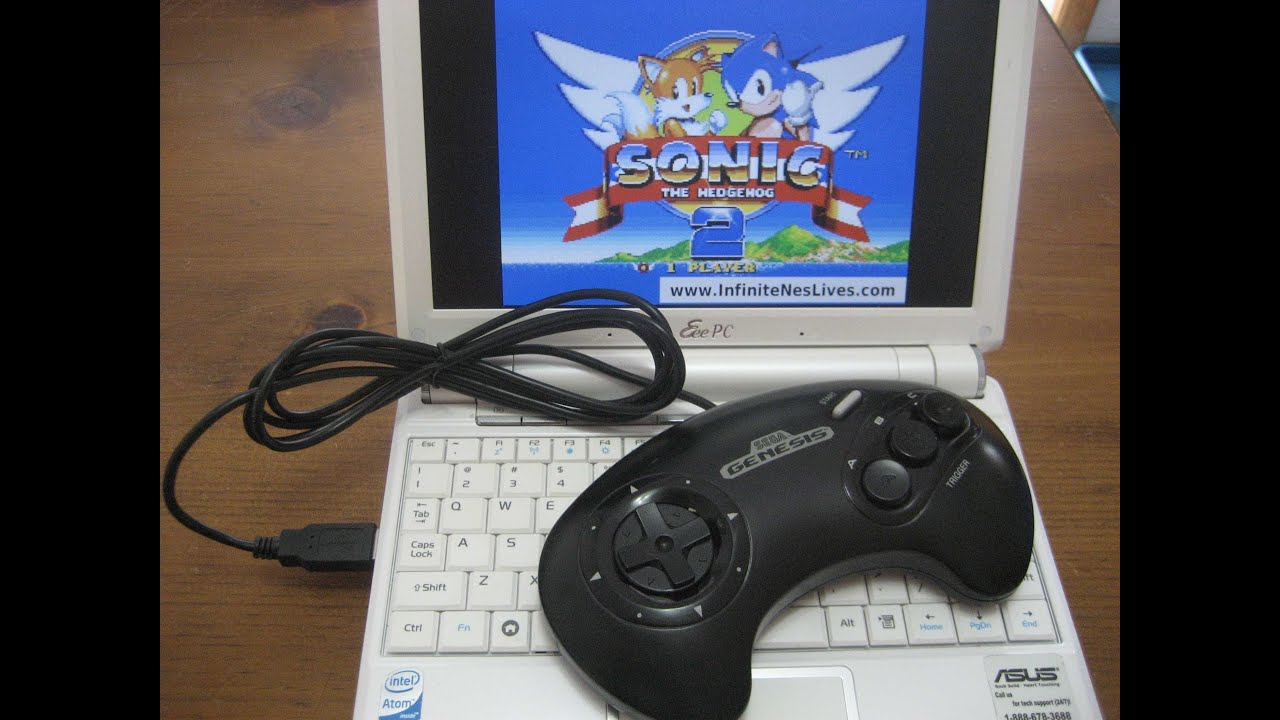 HomeMade Sega <b>USB GamePad</b> (<b>Controller</b>) - YouTube