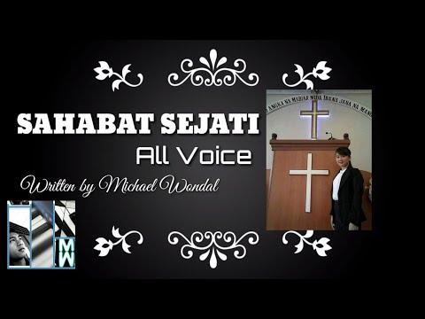Lagu Untuk Melinda Zidemi SAHABAT SEJATI Voc. ALL VOICE Cipt.Michael Wondal (Orginal Song)