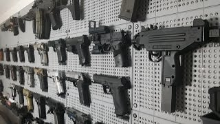 AIRSOFT GUN WALL 2015 UPDATE / AIRSOFT ARMORY / Armoury update JUNE 2015 by Airsoft Mike