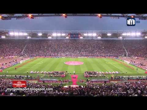 2009 UEFA Champions League Final Opening Ceremony, Stadio Olimpico, Roma
