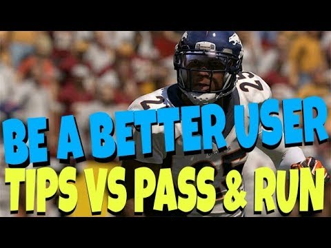 HOW TO BE A BETTER USER DEFENDER & GET MORE INT'S ON DEFENSE! MADDEN 18 RUN AND PASS TIPS