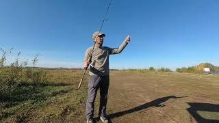 Рыбалка на реке Меша Прогулка со спиннингом
