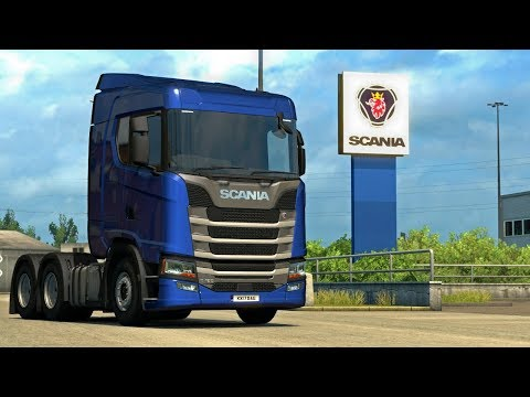 WE'RE OFF TO BUY A NEW SCANIA | Euro Truck Simulator 2 | Part 2 of 2