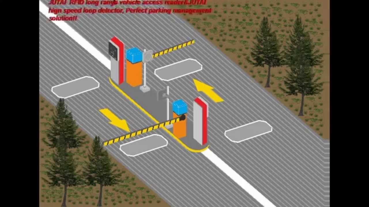 Rfid Parking And Vehicle Detector Youtube