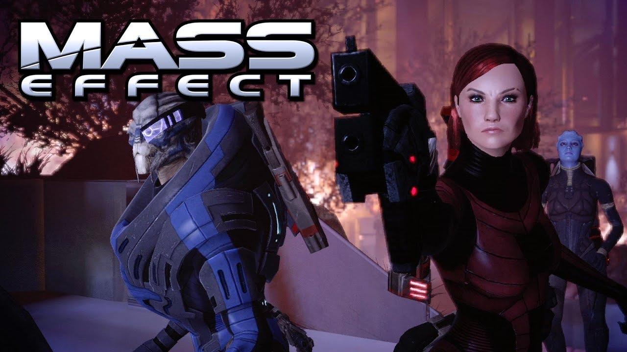 Mass Effect 1 Relaunch Trailer (FemShep fan trailer)