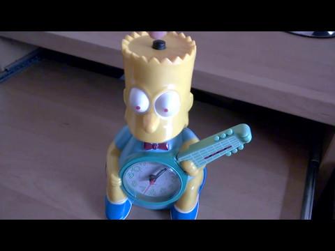Bart Simpson Wecker Alarm Clock
