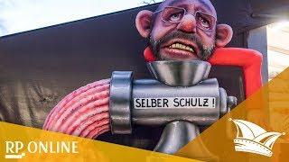 Rosenmontag in Düsseldorf: Das sind die Mottowagen 2018