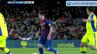 Barcelona vs Getafe 4-0 All Goals Highlights 10 04 2012 -