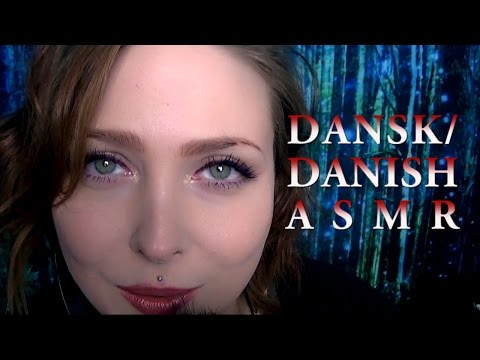 ASMR Speaking Danish // Close Up Mouth Sounds 💕 An Honest & Intimate Chat 💕