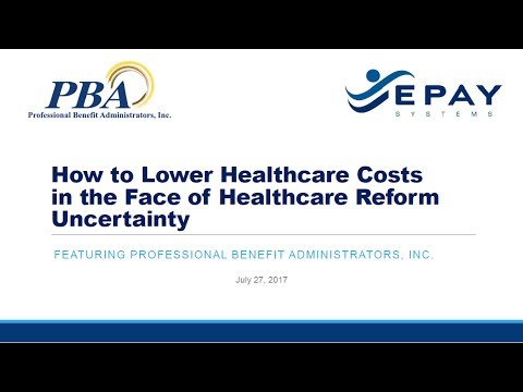 How to Lower Healthcare Costs in the Face of Healthcare Reform Uncertainty