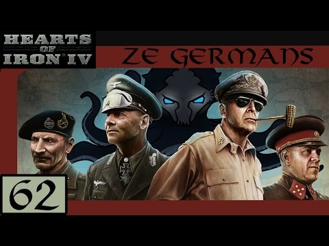 French Navy Demolished - Let's Play Hearts of Iron IV (HoI4): Ze Germans #62 - Veteran Difficulty