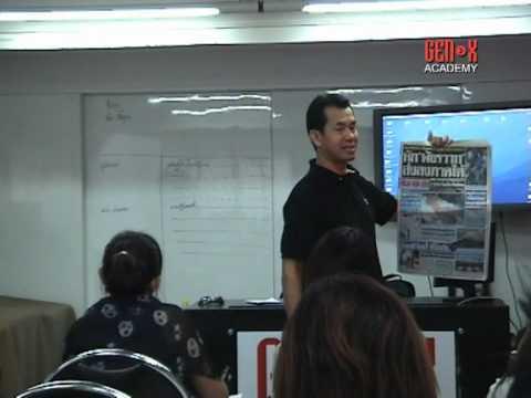 TV Reporter Course @ Gen-x Academy ^^