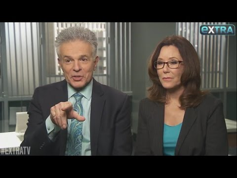 Extra TV Talks Major Crimes and Shandy with Mary McDonnell and Tony Denison