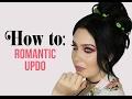 Romantic updo ❤ 2-minute messy bun