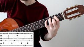 Разбор красивой мелодии из кинофильма Игрушка на гитаре
