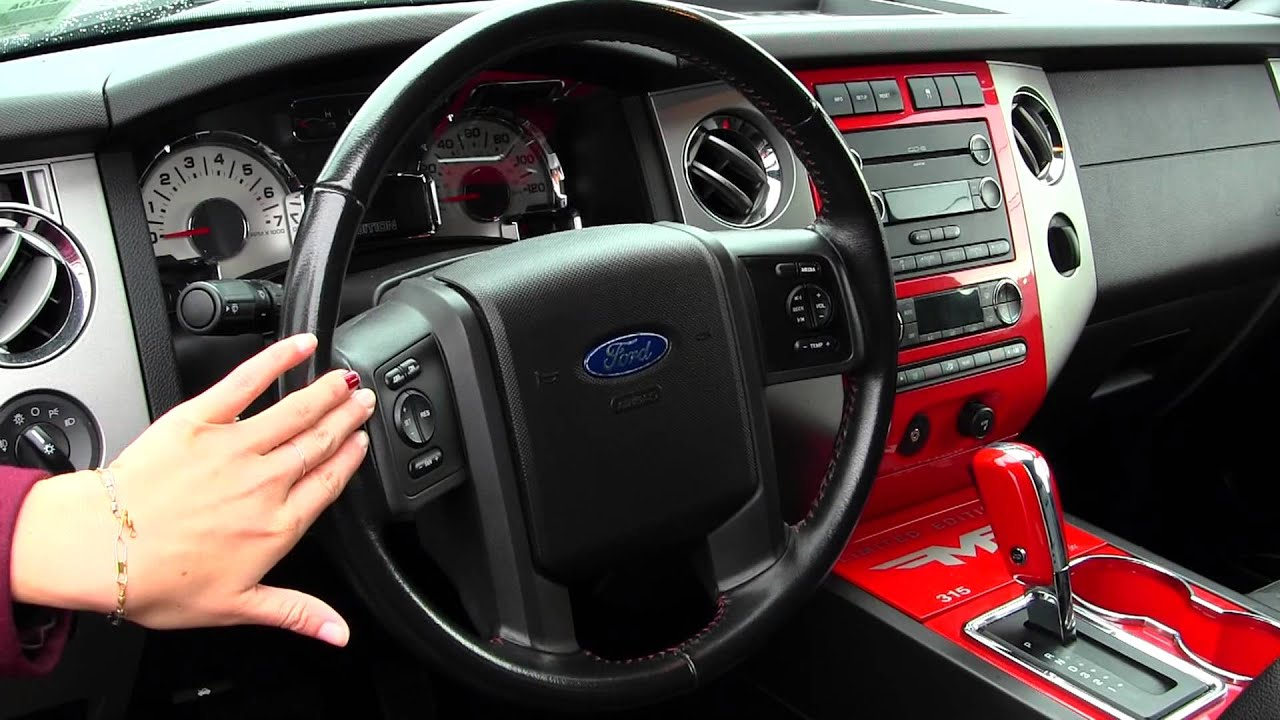 Virtual Walk Around Tour Of A  Ford Expedition Limited Fmf Edition At Nissan Of The Eastside In