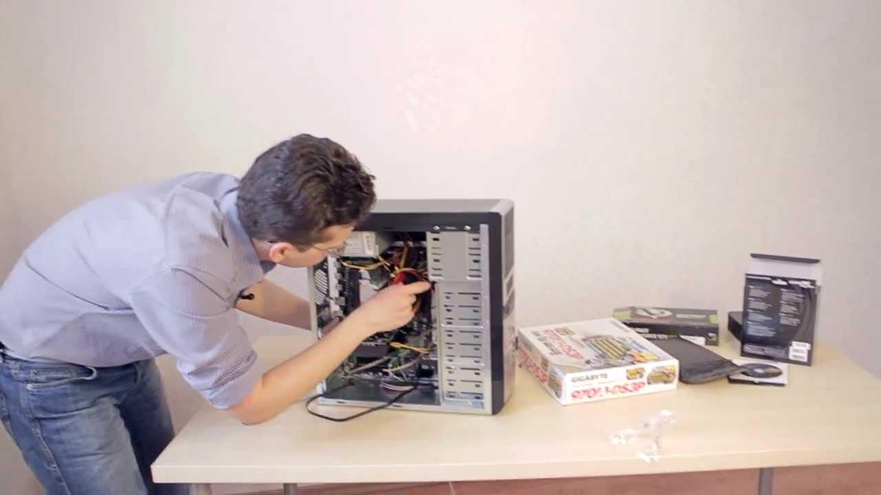 Компьютер для видеомонтажа за 15.000р. Часть 2 - сборка (FX 6300+GTX 650)