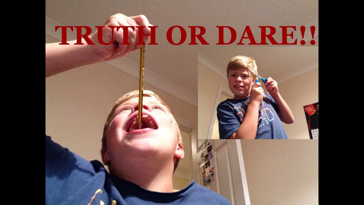 Truth or dare really hard questions!!! - YouTube