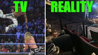 SHOCKING LOW Statistics Have WWE Worried (Half EMPTY Arenas & Letting Fans In FREE!)