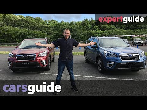 Subaru Forester 2019 Review: International Launch