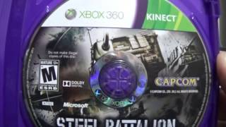 Unboxing - Steel Battalion: Heavy Armor PT-BR XBOX 360
