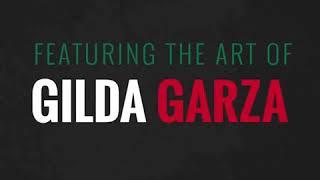 Gilda Garza Art te amo México