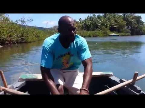 JAMES BOND. DOMINICA TRAVEL. INDIAN RIVER
