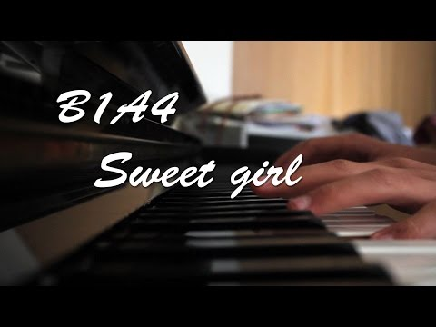 B1A4 Sweet Girl Piano Cover