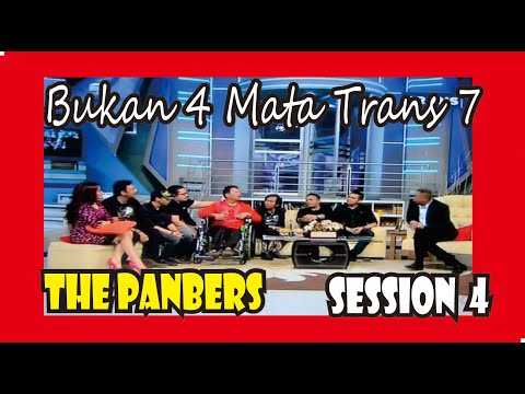 The Panbers - Bukan 4 Mata - Session 4