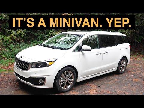 The Best Minivan Review Ever - 2016 Kia Sedona