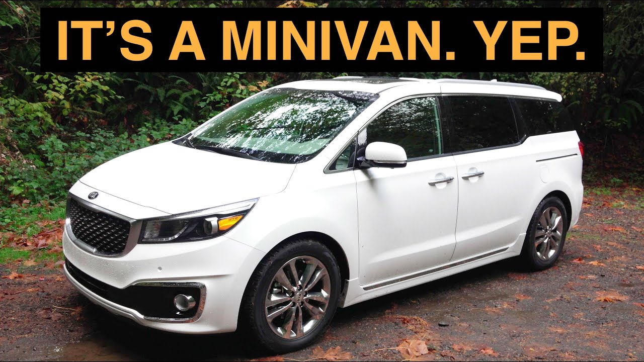 The Best Minivan Review Ever 2016 Kia Sedona