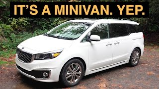 The Best Minivan Review Ever - 2016 Kia Sedona