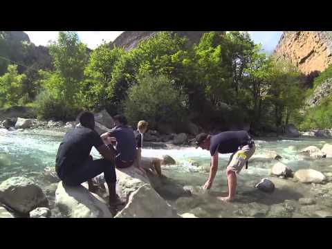 GoPro Alpes de Haute Provence - Newcastle University MSc Engineering Geology Fieldwork 2014