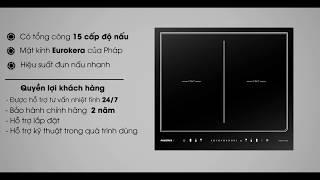 Bếp từ đôi - RES 6D - Bếp từ tốt nhất hiện nay | Thương hiệu Rosieres