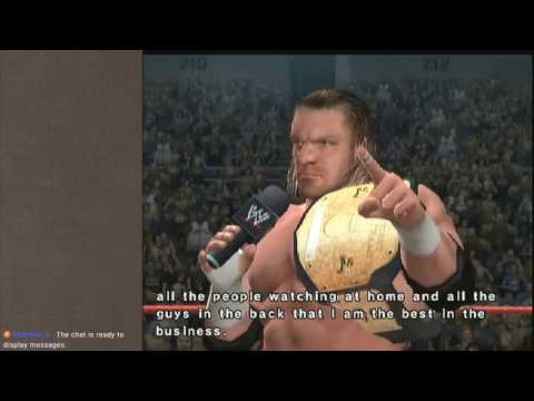 Stand back, there's a hurricane coming through!- Smackdown vs RAW 06 (part 4) [Wrestling Wednesday]