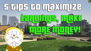 GTA Online 5 Tips To Maximize Earnings, Make More Money With All Businesses