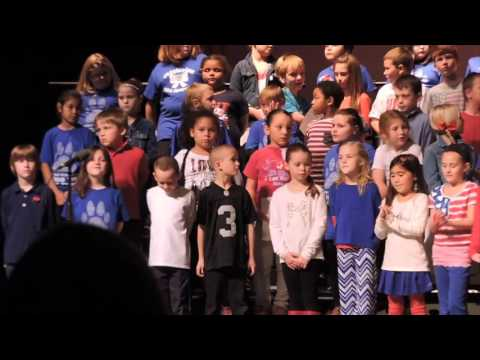 Thank You Soldiers; Veterans Day 2015, Jessieville Elementary School, Arkansas